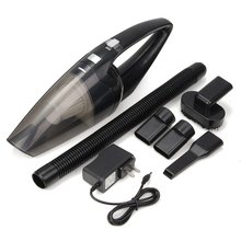 2018 Car Vacuum Cleaner 90W 2800Pa Mini Portable Cordless Handheld Auto Vacuum Cleaner Dust Suction Collector Dry Wet Dual Use