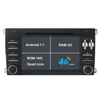Android 7 1 1 Two Din 7 Inch Car DVD Player For Porsche Cayenne 2003 2010