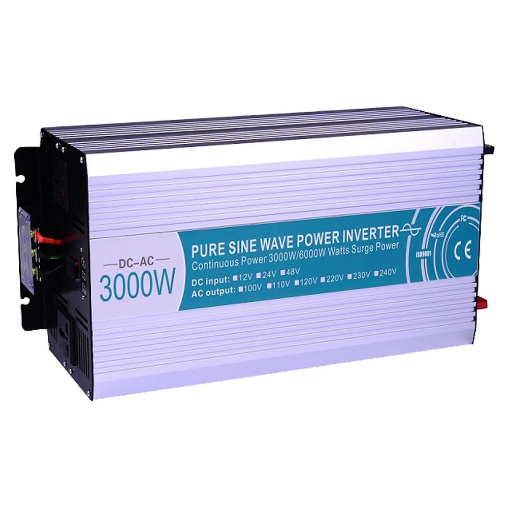 Smart Series Rein Sinus Wechselrichter 3000 Watt CLP3000A 121 DC 12 ...