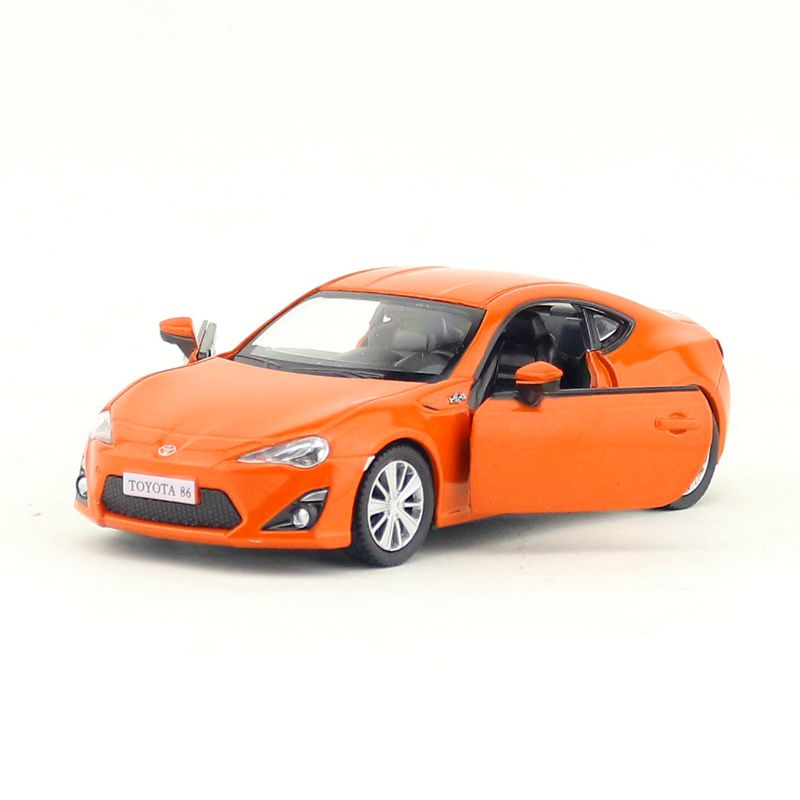 Toyota Sports Car: 1pc 1:36 12.5cm Delicacy Cool Yufeng TOYOTA 86 Sports Car