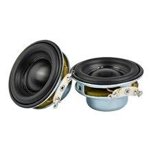 AIYIMA 2 sztuk 5W 40MM Mini Audio przenośne głośniki 16 rdzeń 4Ohm głośnik pełnozakresowy gumy z boku magnetyczny NdFeB głośnik
