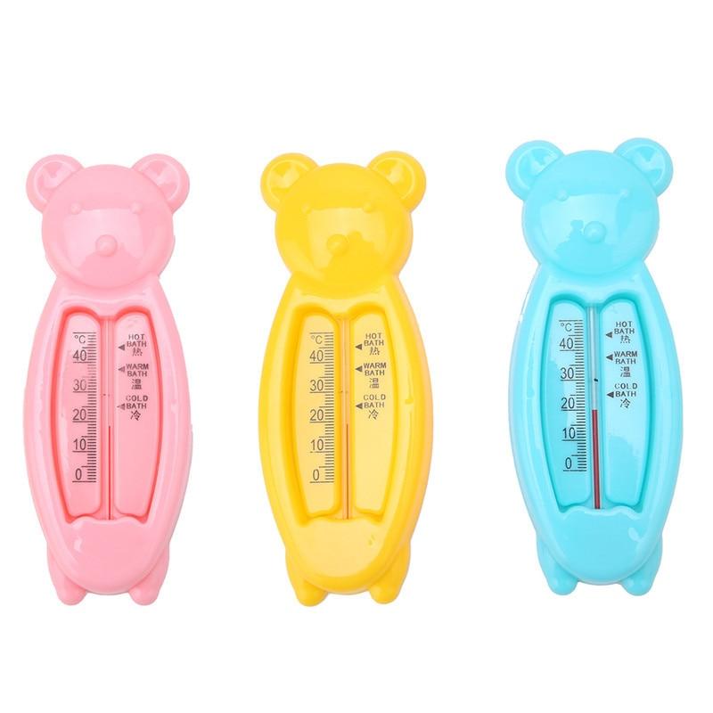 Babypflege Nett Schwimm Schöne Bären Baby Wasser Thermometer Float Baby Bad Spielzeug Thermometer Badewanne Wasser Sensor Thermometer