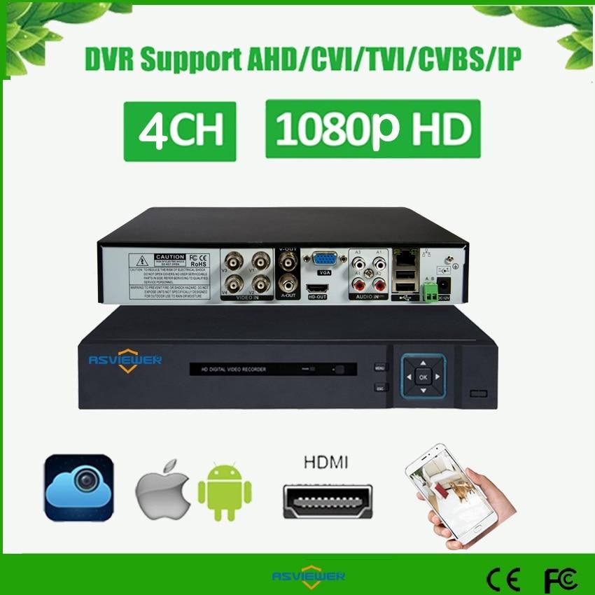 5 IN 1 AHD CVI TVI CVBS IP 4Ch 1080P Security CCTV DVR NVR XVR Hybrid Video Recorder 1080P Onvif Max 4TB P2P View AS-AVR3404M5 IN 1 AHD CVI TVI CVBS IP 4Ch 1080P Security CCTV DVR NVR XVR Hybrid Video Recorder 1080P Onvif Max 4TB P2P View AS-AVR3404M