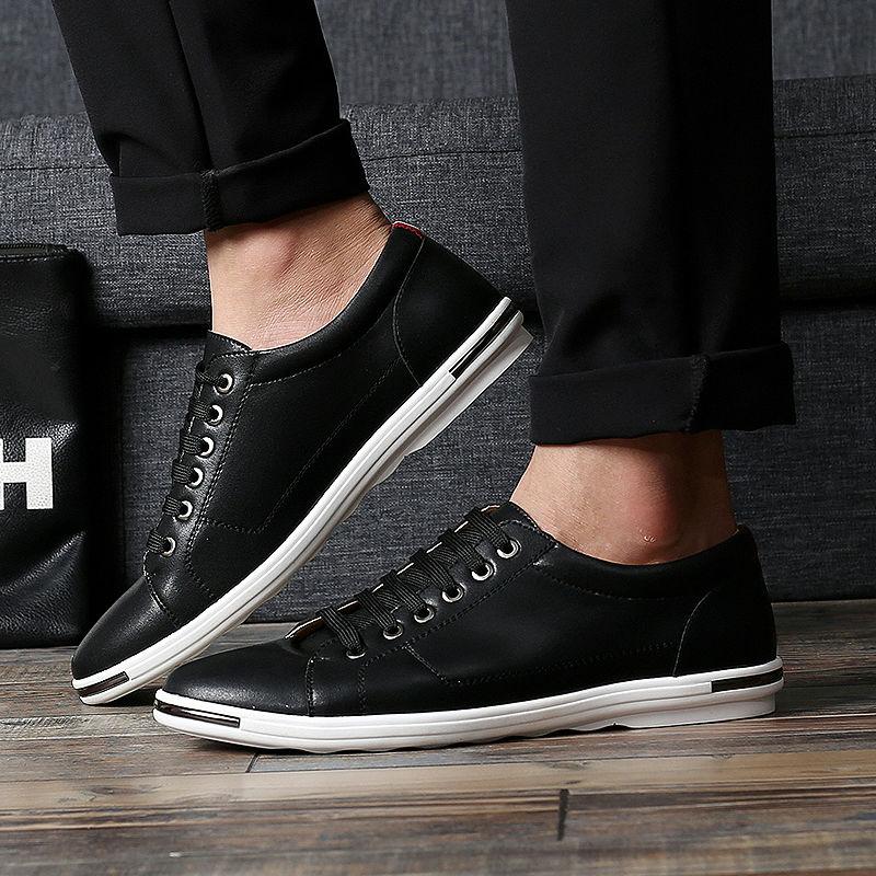 New Hot Big Size font b Men b font Casual Microfiber font b Shoes b font