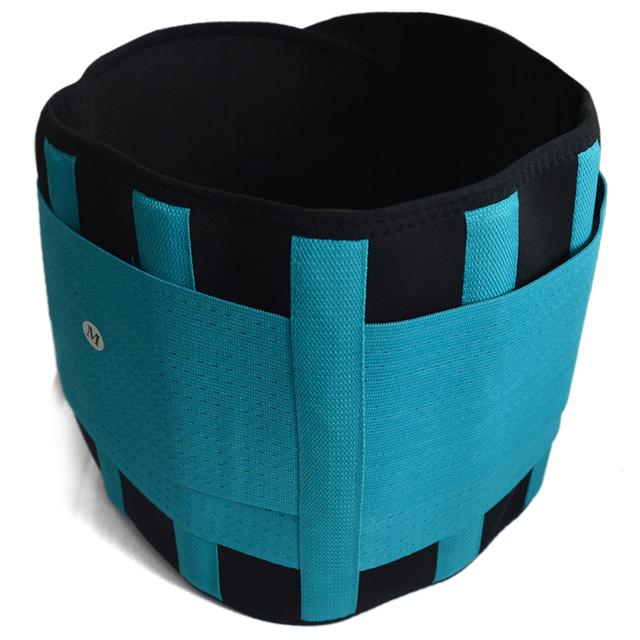 Men Women Exercise Brace Slimming Belt Waist Trainer Support Lumbar Back