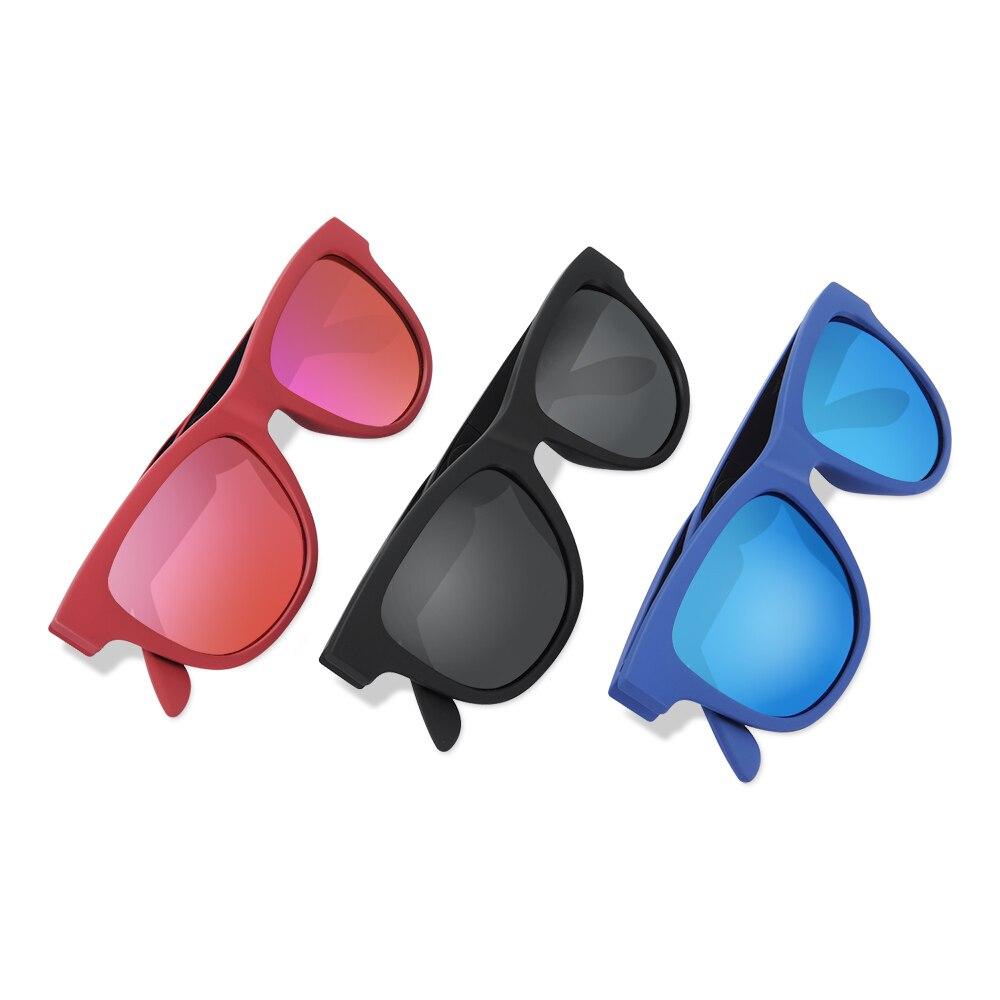 G1 Polarized Glasses Sunglasses Bluetooth Bone Conduction Headset SmartTouch Stereo Earphones Wireless Headphones w/ Microphone