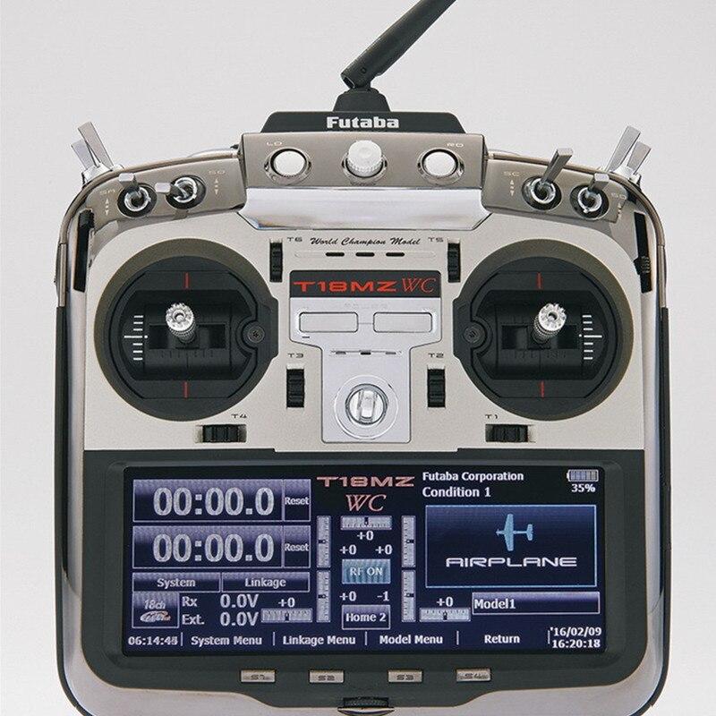 Futaba 18MZ WC Champion édition 18CH télécommande émetteur avec récepteur R7008SB Support le plus rapide FASST T-FHSS S-FHSS