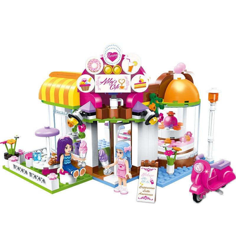 Blocos menina compatível com legoinglys amigos Feature 3 : Educational Gift Toy For Children