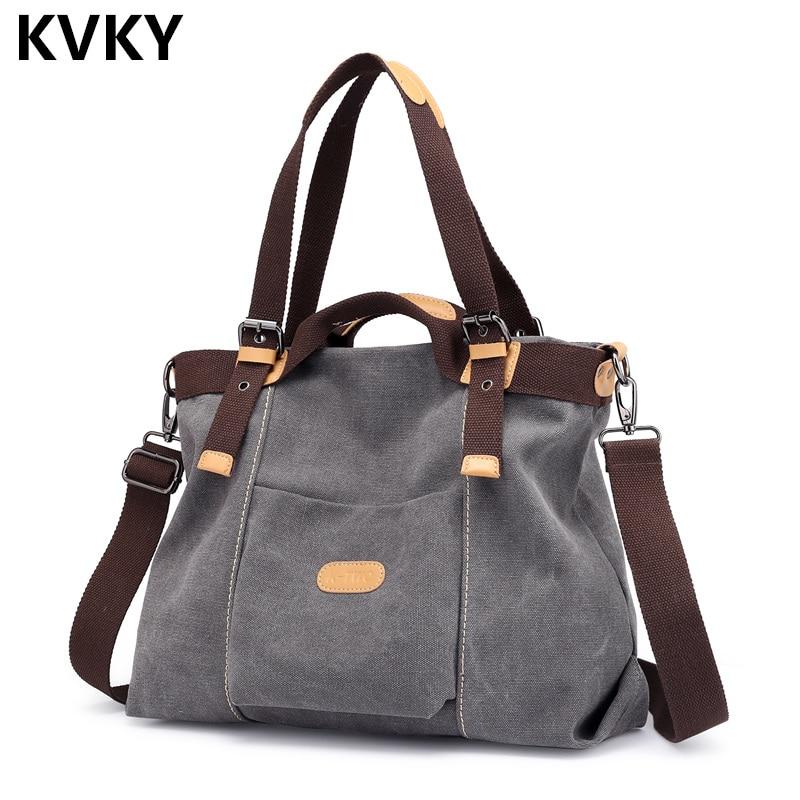 Canvas Baghigh Quality Handbags Hobos Shoulder Bags Crossbody Bag Ladies Tote Bolsas Feminina