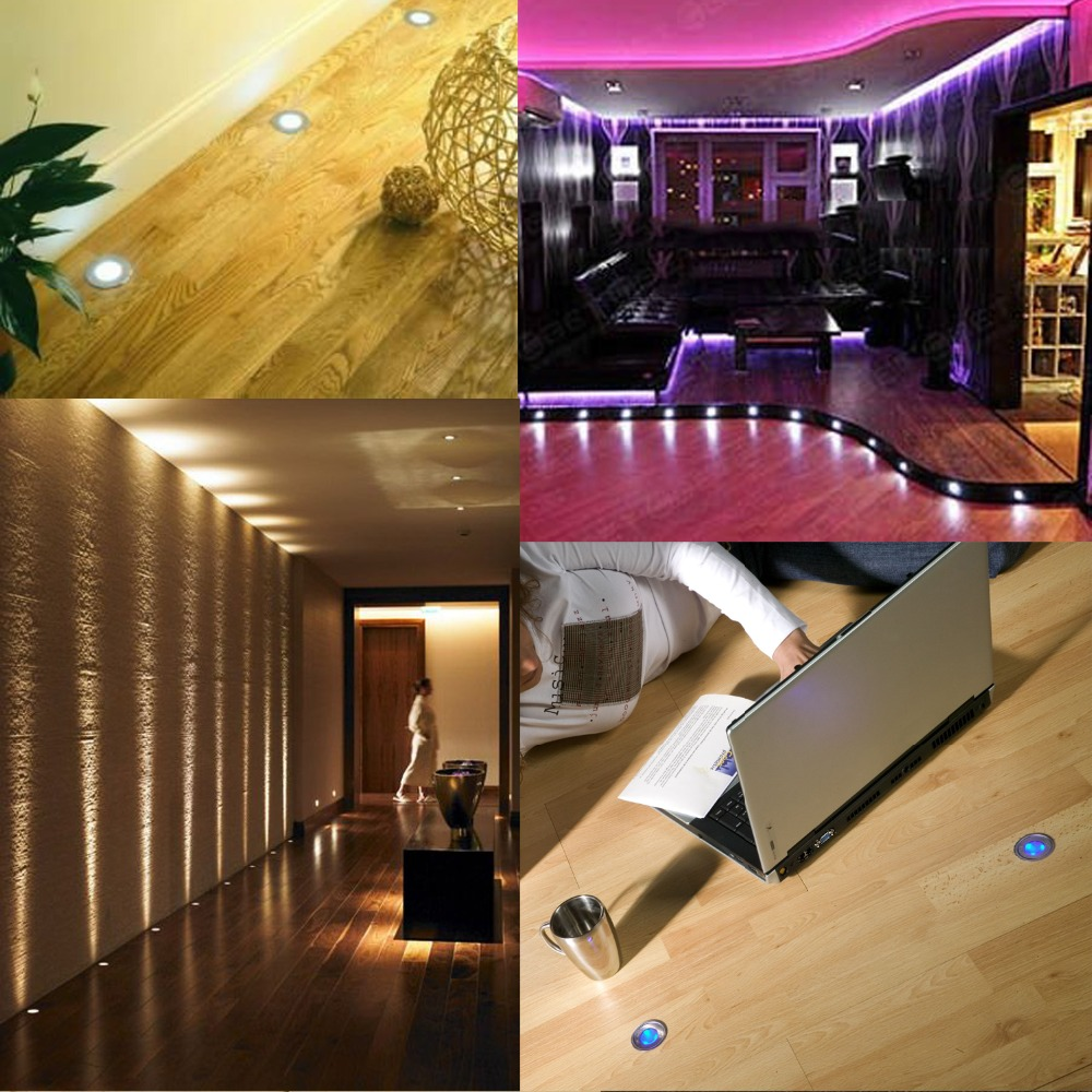 Us 1044 5 Offqaca 7 Lm Smd3350 Led Deck Light Low Voltage Waterproof Ip67 Wood Flooring Step Led In Ground Lighting For Outdoor Garden B101 In Led