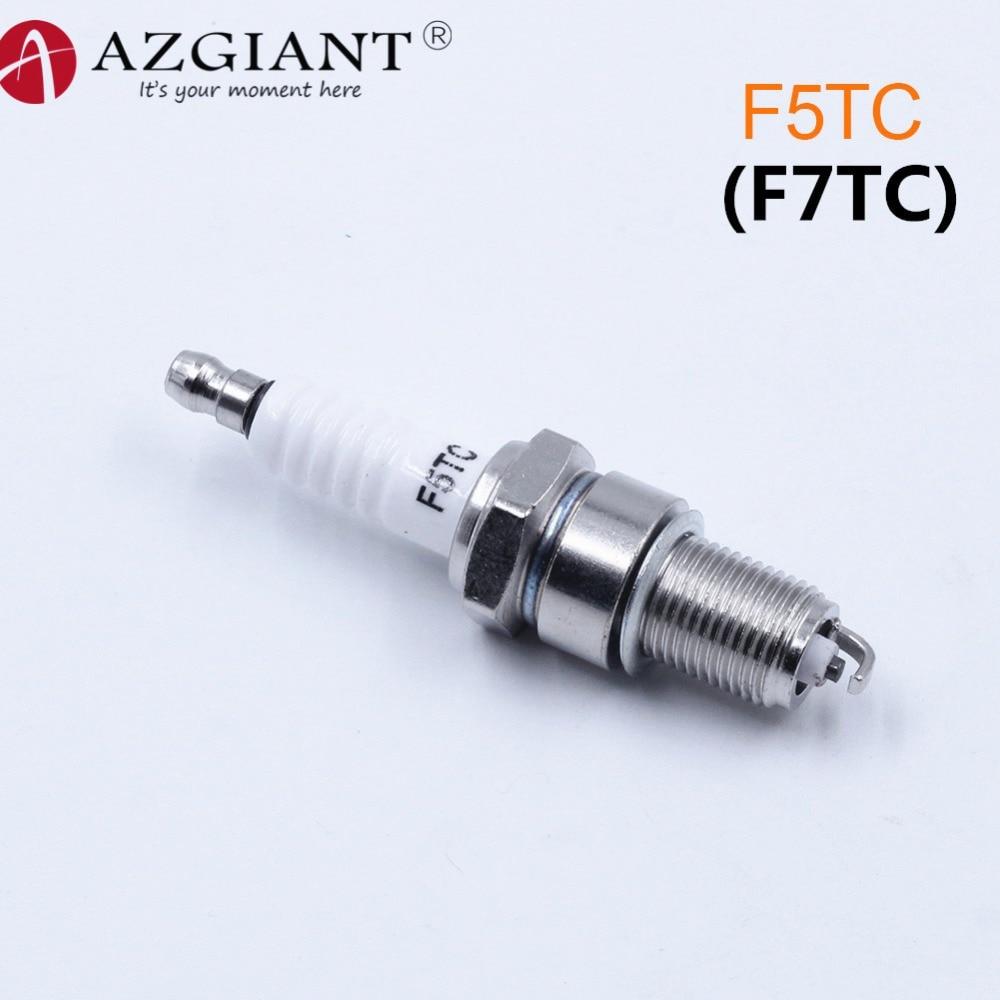 2x Ignition Spark Plug F7TC For Honda GX120 GX160 GX200 GX240 GX270 GX340 GX390