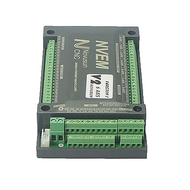 Cartão do controlador cnc nvum 3 4