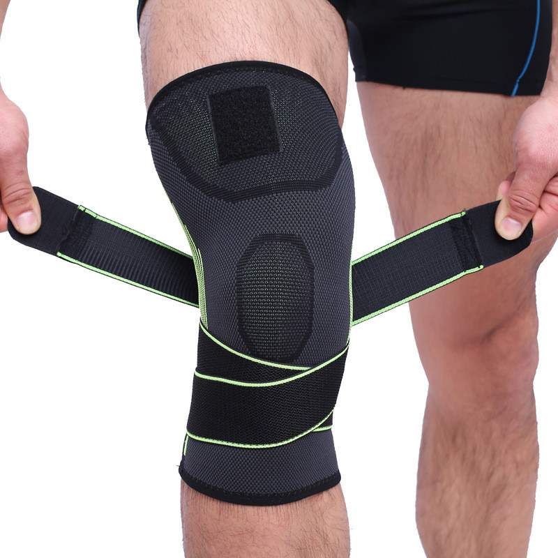 1 Pc Fitness Running Cycling Bandage Knee Support Braces Elastic Leg Protective Pad Knee Protector Braces Compression Sleeve