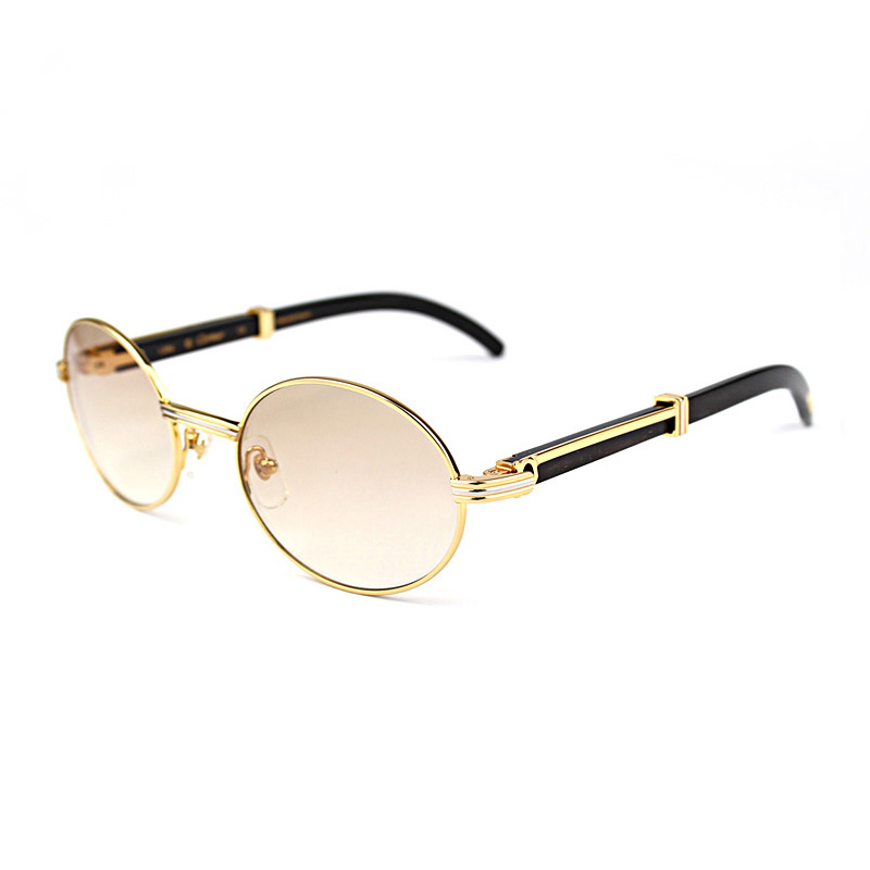 Reliable And Wholesale Nature Buffalo Horn Carter Sunglasses Women Sunglass Brand Full Frame Metal Sun Glasses For Men