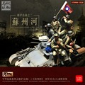 Resin soldier 1/35 resin figure 5pcs/set chinese figure