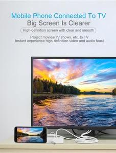 Image 3 - USB หญิงถึง HDMI Adapter, ปลั๊กแปลงสายสำหรับ iPhone iPad มาร์ทโฟนแท็บเล็ต HDMI HDTV