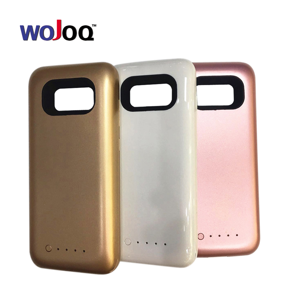 WOJOQ Battery Charger Case For Samsung S8 S8 Plus 5000mAh Backup External Battery Power Bank For
