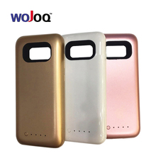 WOJOQ Battery Charger Case For Samsung S8 S8 Plus 5000mAh Backup External Battery Power Bank For S8 Portable Powerbank Case