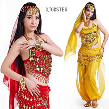 DJGRSTER New Arrival 2017 Belly Dancing Oriental Dance Costumes Sequined Bra Top Beaded Fringe Bellydance Costume For Women