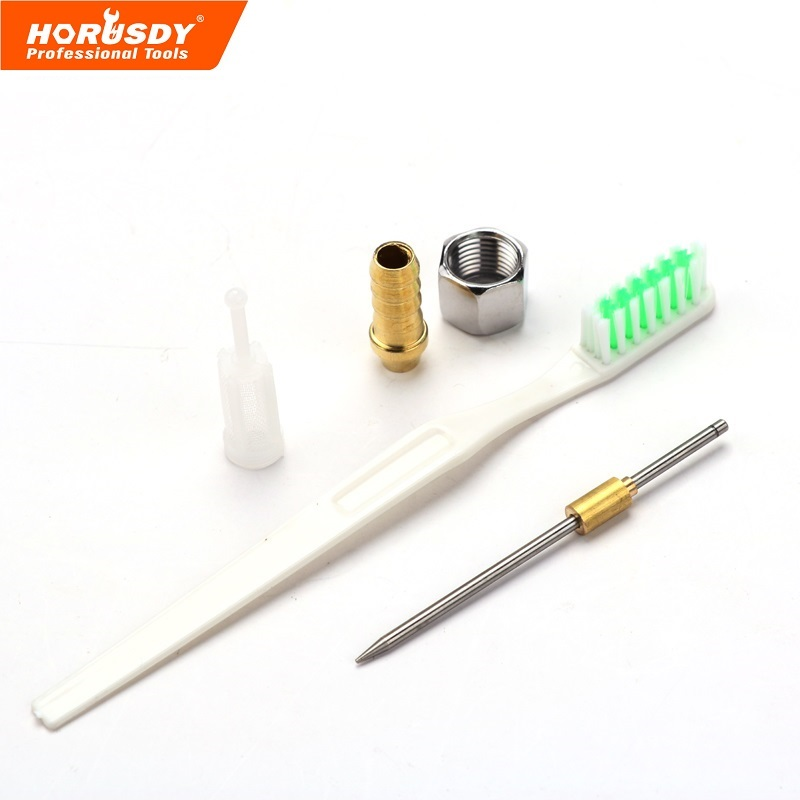 Power Tools Horusdy Spray Gun Air Mini Paint Gun H-2000 Hvlp 0.8 Mm Spray Gun Working Pressure Professional Hvlp Air Brush Pneumatic Tools Tools