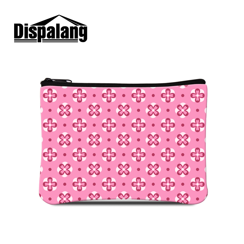 68102f3887024 Dispalang 3d الطباعة هندسية لطيف عملة محفظة للفتيات وتغير محفظة سيدة حقائب  حقائب النساء المحمولة ماكياج الحقيبة الصغيرة التجزئة