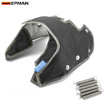 EPMAN Racing Exhaust Turbo Blanket Heat Shield Cover High Performance For Audi VW K03 / K04 TURBO Charger EPTBBK04B