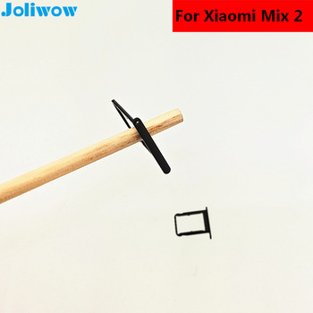 New SIM Card Slot Holder For xiaomi MIX2 MIX 2 Micro SD Card Slot Tray Socket Adapter Replacement Repair Spare Parts