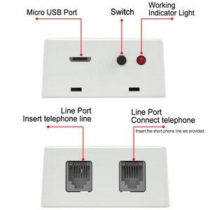 Image 5 - Telefono di rete fissa Call Recorder Registratore Vocale Automatico Dispositivo di Registrazione delle Chiamate Telefoniche senza Scheda di Memoria Necessaria