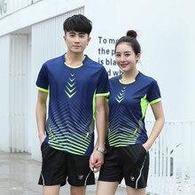 Adsmoney Top Quality Tennis Shirts Suits Men Clothing Sports Badminton T Shirt Clothes Men Sportwear tenis masculino