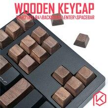wooden keycaps wood keycap r1 r2 r3 r4 backspace enter spacebar arrow key wasd for 87 tkl 104 ansi xd64 xd75 xd96 xd84 cospad