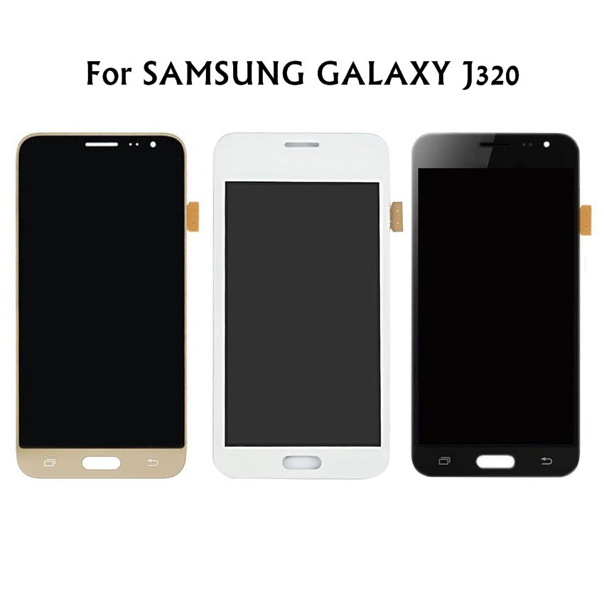 <font><b>AMOLED</b></font> Compatible <font><b>LCD</b></font> Display Touch Screen For Samsung Galaxy J3 2016 <font><b>J320</b></font> J320F Touch Screen Digitizer Assembly+Tools image