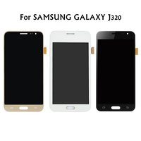 AMOLED Compatible LCD Display Touch Screen For Samsung Galaxy J3 2016 J320 J320F Touch Screen Digitizer