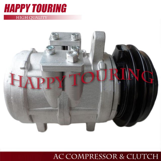 US $120 15 11% OFF|6E171 AC Compressor For John Deere Tractor RE57936  SE501460 SE501464 RE10975 RE10972 RE12513 R12513 RE12514 TY6766 TY6626 -in