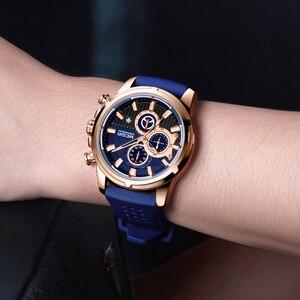Image 5 - Megir Top Merk Heren Analoge Quartz Sport Horloges Mannen Luxe Horloge Mode Siliconen Waterdicht Polshorloge Mannelijke Klok