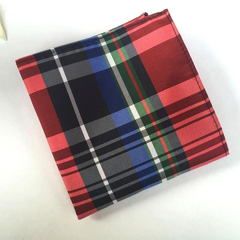 QXY moški modni kravata za moške kravate komplet obleko žep - Oblačilni dodatki - Fotografija 5
