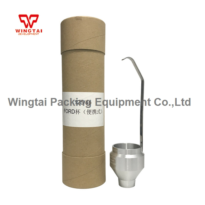 100ml USA Portable Ford Viscosity Cup 2/3/4mm ink viscosity cup for paint usa ford cup ink viscosity cup viscosity measurement cup with tripod 2 3 4mm for paint industry