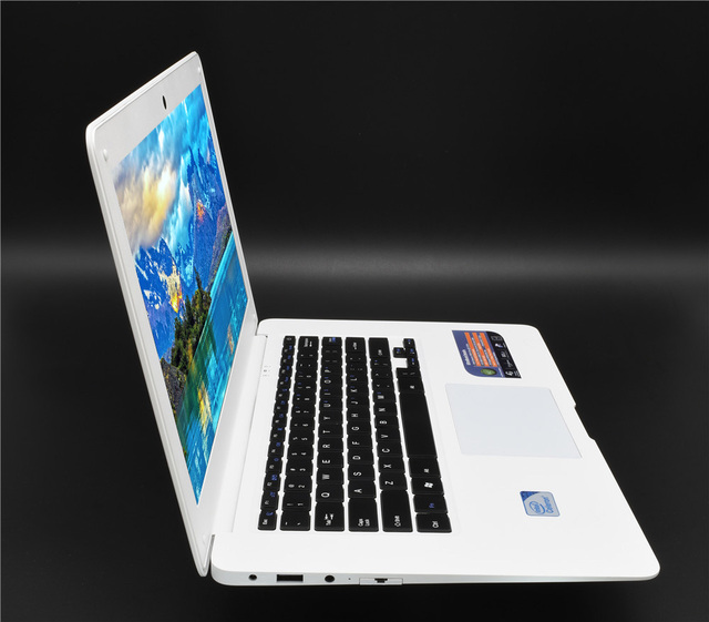 Laptop PC 8GB RAM 64G SSD+750G HD Ultrabook Windows 10 or 7 Computer Fast CPU Intel 4 Core AZERT German Spanish Russian Keyboard