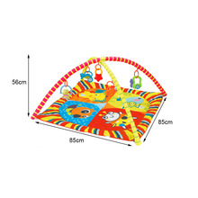 Baby Play Mat Kids Rug Educational Puzzle Carpet With Piano Keyboard And Cute Animal Playmat Baby Gym Crawling Activity Mat Toys 120cm baby toys play mats with rack soft cotton puzzle educational mat crawling carpet child pink blue baby play gym