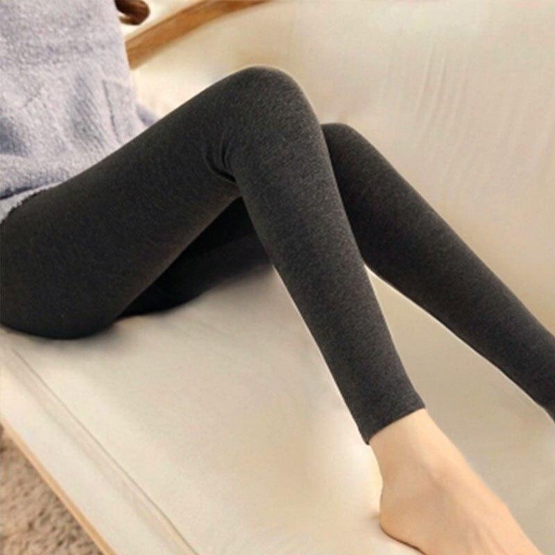 Spring new modal   leggings   women wear wild feet pants candy color slim pantsb3