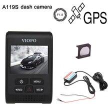 Free shipping!A119S V2 2.0″ Super Capacitor Novatek 96660 HD 1080p GPS Car Dashcam Camera DVR + CPL + hardwire cable