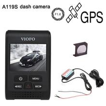 Upgraded A119S V2 2.0″ Super Capacitor Novatek 96660 HD 1080p GPS Car Dashcam Camera DVR + CPL + hardwire cable fuse DVR