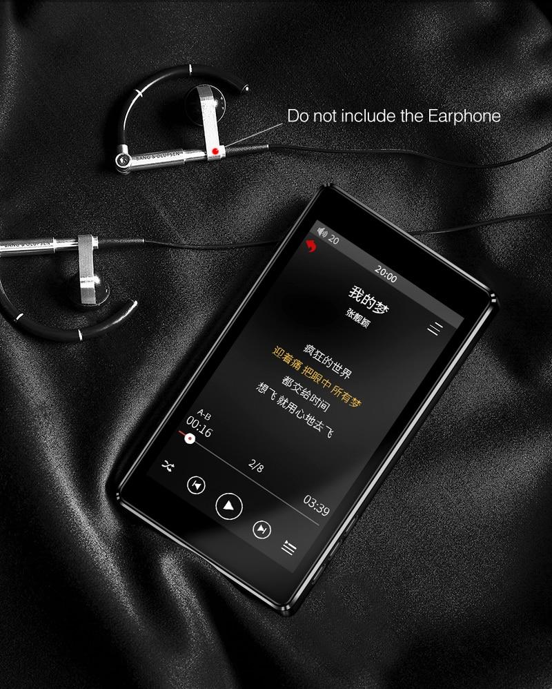 mp3 player 8 gb leitor de música