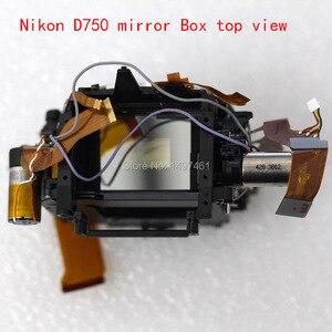 Image 3 - Nieuwe Spiegel Doos Assy Met Diafragma Groep En Sluiter Groep Reparatie Onderdelen Voor Nikon D750 Slr