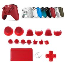 лучшая цена Full Sets Replacement Parts Buttons for PlayStation 4 Dualshock 4 PS4 PRO Controller JDM JDS 040 R2 L2 R1 L1