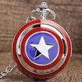 Бесплатная доставка Бронзовая Звезда Кварцевые Карманные Часы Ожерелье Подвеска Чиан Леди Мужчины Женщины Подарок P264