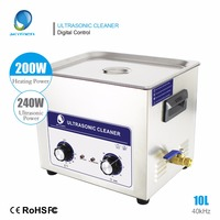 SKYMEN 10l Ultrasonic Bath Cleaner 10L 240W Professional Stainless Steel Ultrasonic Cleaner Industrial cleaner