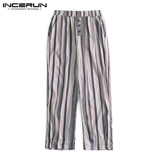 Autumn Calf Length Men Baggy Pants  4