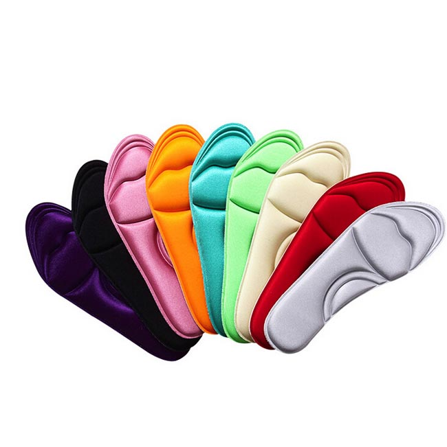 Free shipping 250pairs/lot High Heels Sponge 3D Insoles Cushions Pads DIY Cutting Sport Arch Support Orthotic Feet Care Massage expfoot orthotic arch support shoe pad orthopedic insoles pu insoles for shoes breathable foot pads massage sport insole 045