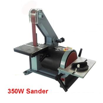 762 Belt Sander Sanding Machine Woodworking Metal Grinding/Polishing Machine Reblower Chamfering Machine 350w Copper Engine 220V