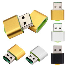 Mokingtop Hot selling High Speed Mini USB 2.0/ USB 1.1 port Micro SD TF T-Flash Memory Card Reader Adapter for PC/ Mac computer